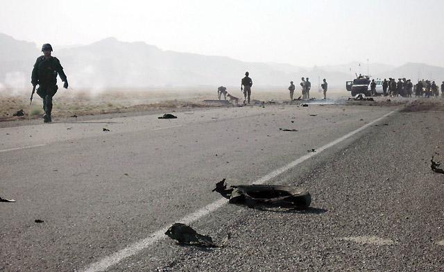 Un atentado contra un convoy italiano de la OTAN en Herat causa seis heridos