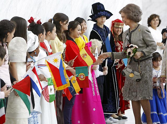 La Reina apoya un año más la Kermés benéfica de las Damas Diplomáticas