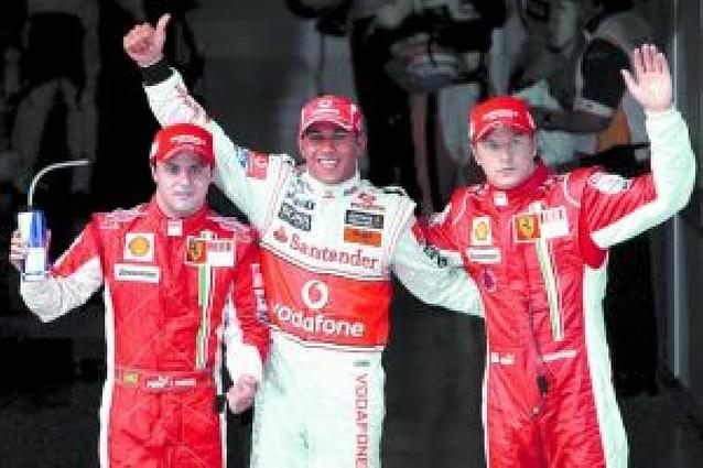 Alonso, entre Hamilton y los Ferrari