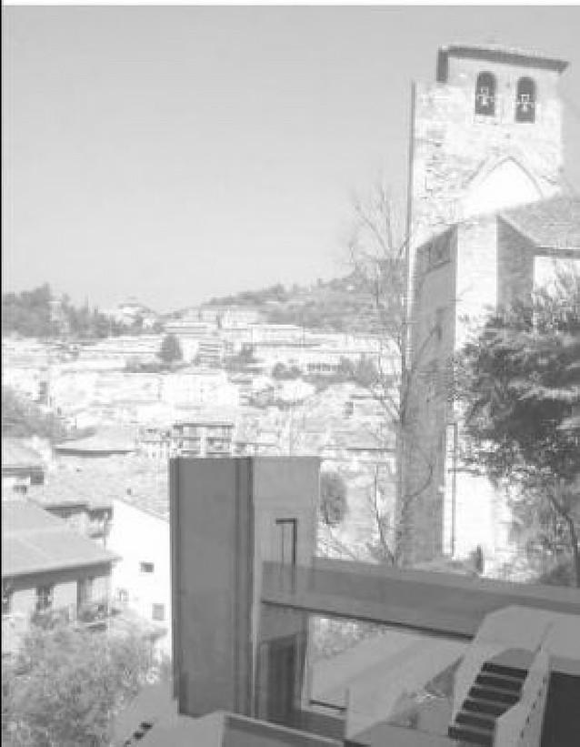 Estella tendrá listo para la festividad de San Andrés el ascensor del barrio monumental