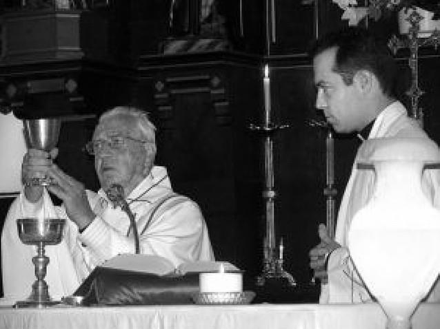 Lerín despidió a Íñigo Ugalde, párroco de la localidad durante los últimos cinco años