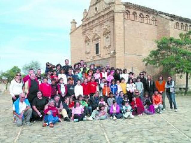 Reunión de 80 niños riberos de 1ª Comunión