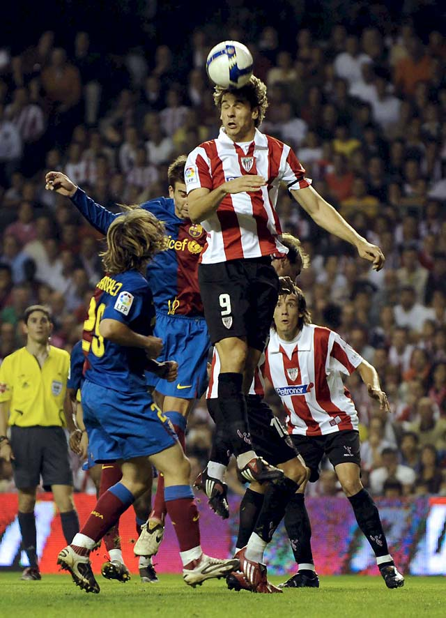 Eto'o plasma la superioridad del Barça y deja al Athletic en descenso (0-1)