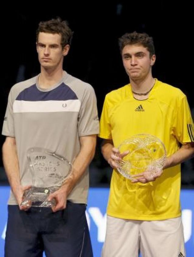 Murray pudo con Simon en Madrid