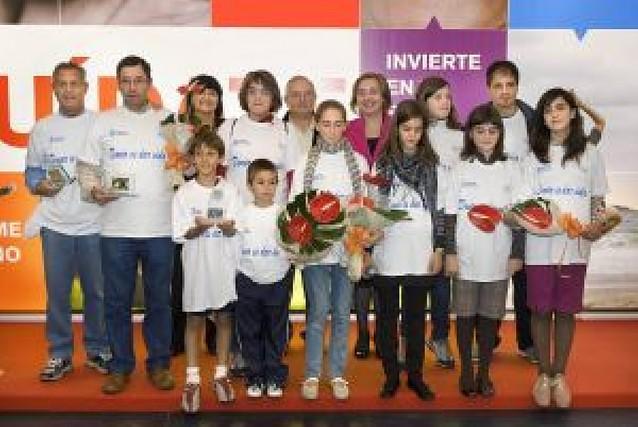 Marcha por la donación de órganos en Pamplona