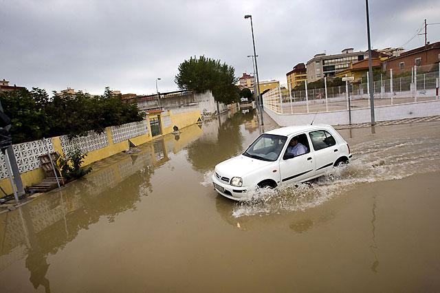 Valencia, Murcia y Andalucía continúan en alerta por fuertes lluvias