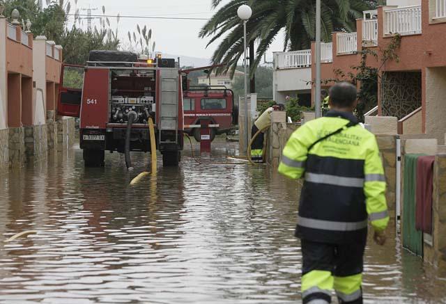 Un bebé de siete meses muere tras ser arrastrado por el agua en Castellón
