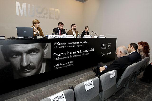 Comienza en Pamplona el I Congreso Internacional Jorge Oteiza