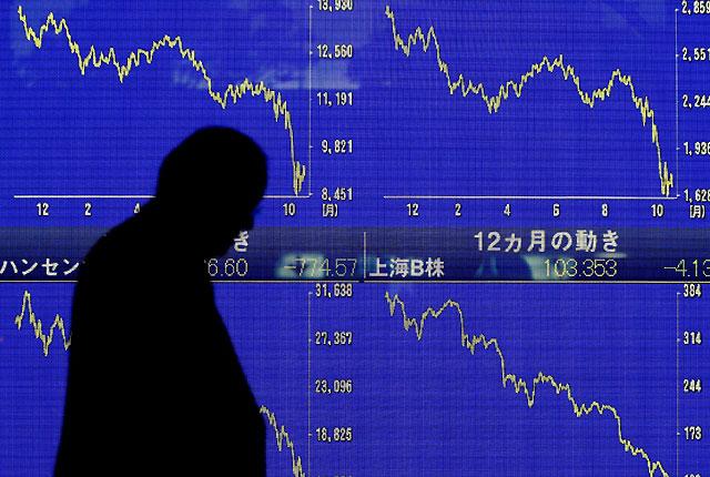 Las bolsas asiáticas vuelven a cerrar con pérdidas