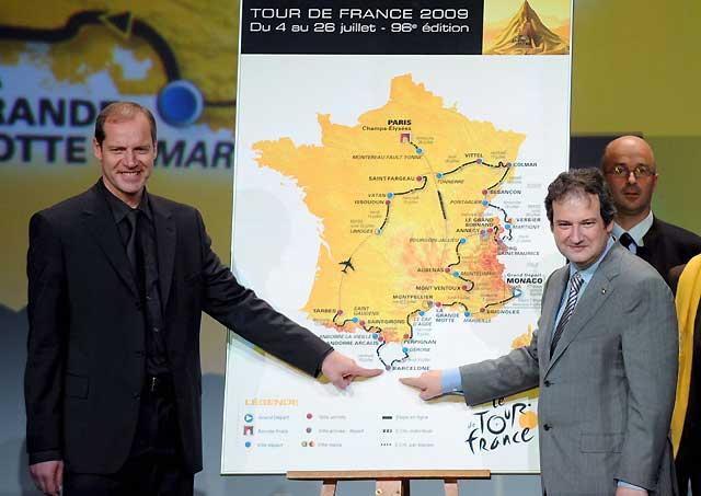 Barcelona celebra la inclusión de la ciudad en el Tour de Francia