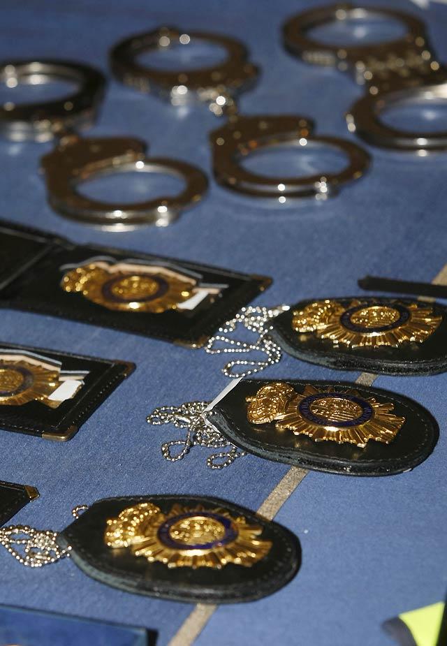 Cinco falsos policías detenidos por robar a narcotraficantes