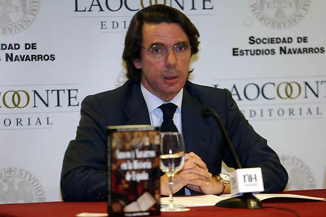 Aznar critica que se aporten recursos a causas científicamente cuestionables como el cambio climático