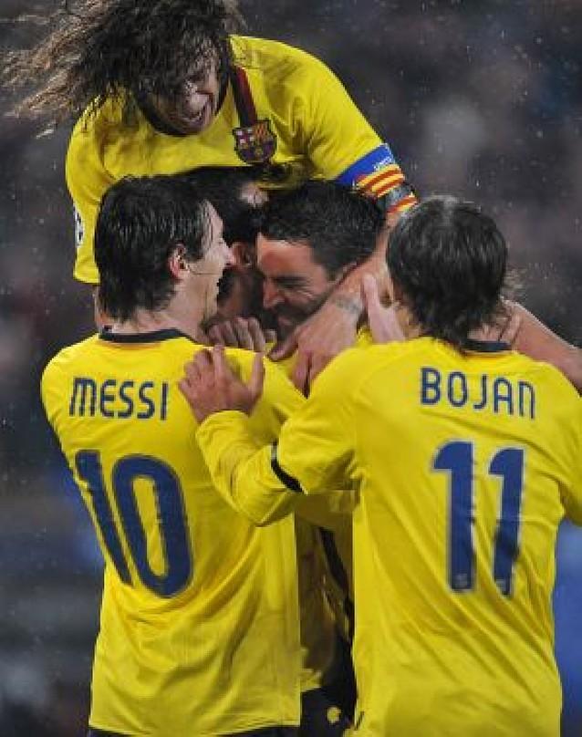 El Barça se da un festín de goles a costa del Basilea