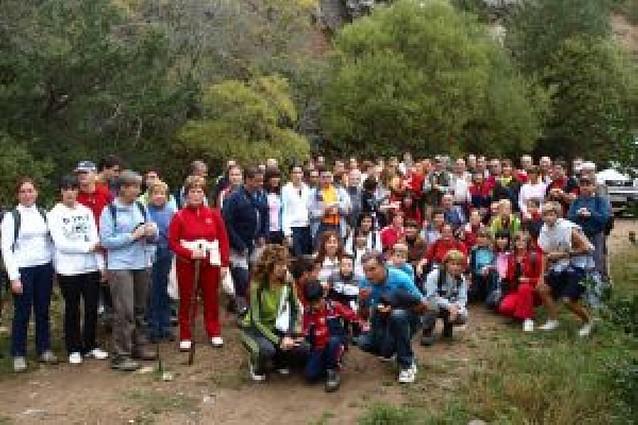Marcha de 120 personas al Moncayo