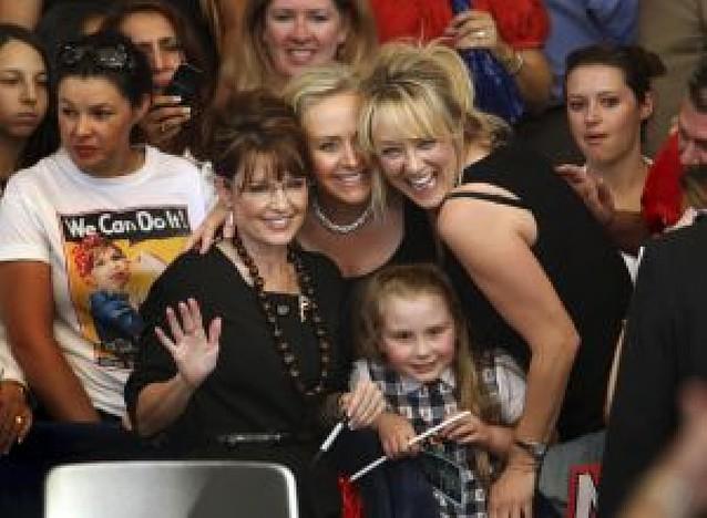 El partido republicano ha gastado 150.000 dólares en ropa para Palin y su familia