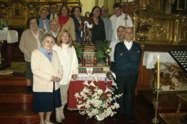 Fiesta de la asociación de belenistas