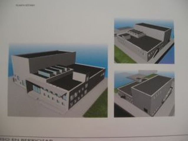 La nueva casa de cultura de Berriozar tendrá un auditorio con 300 plazas