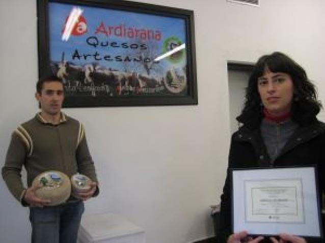 Premio para un queso de Legasa