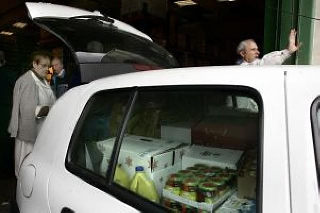 Aumentan un 10% las peticiones al Banco de Alimentos