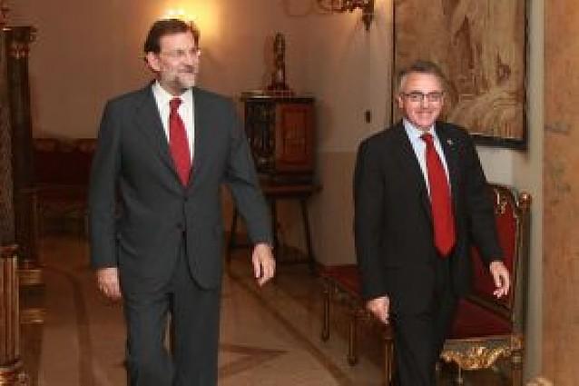 """Rajoy mantendrá el pacto si UPN le da """"garantías"""" de que lo va a cumplir"""