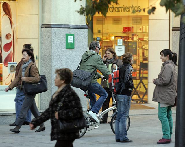 Sólo tres accidentes entre ciclista y peatón en Pamplona durante 2008