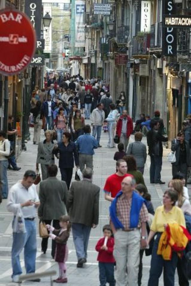 La actividad comercial aumentó en Pamplona en el primer semestre