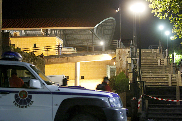 Varios artefactos explotan en dos estaciones del Euskotren en Berriz y Amorebieta