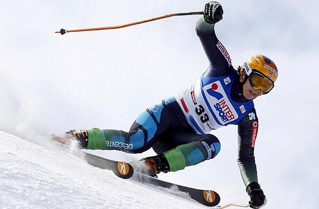 María José Rienda sorprende en su regreso a la Copa del Mundo de esquí