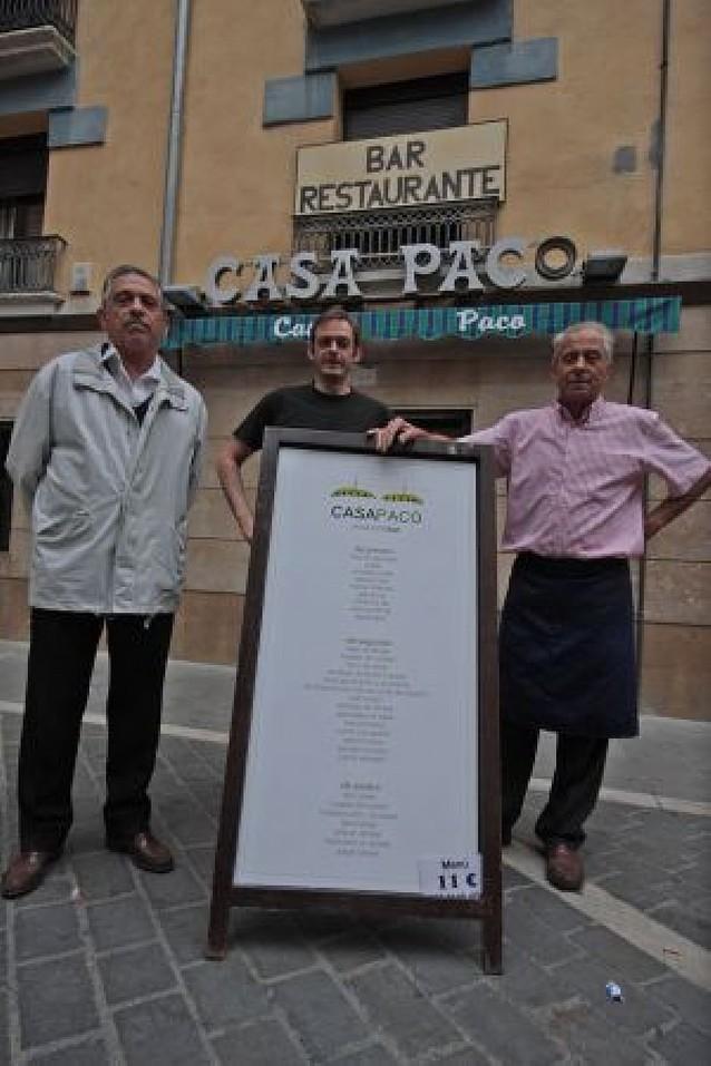 Cien años de historias en Casa Paco