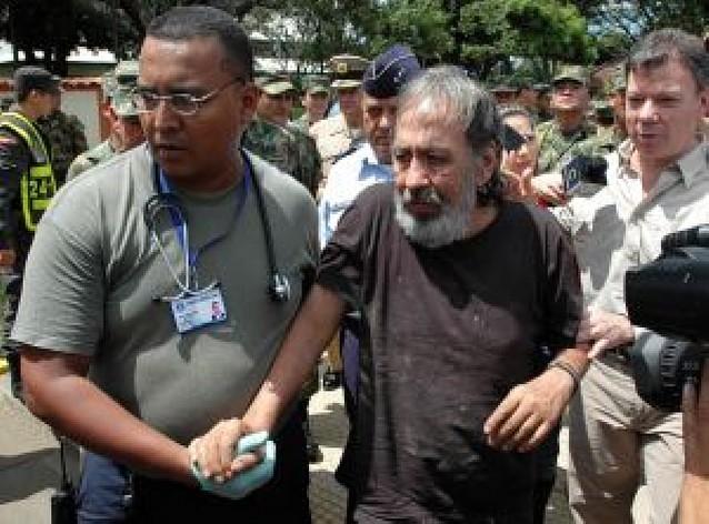 Un ex congresista se escapa de las FARC tras ocho años de secuestro