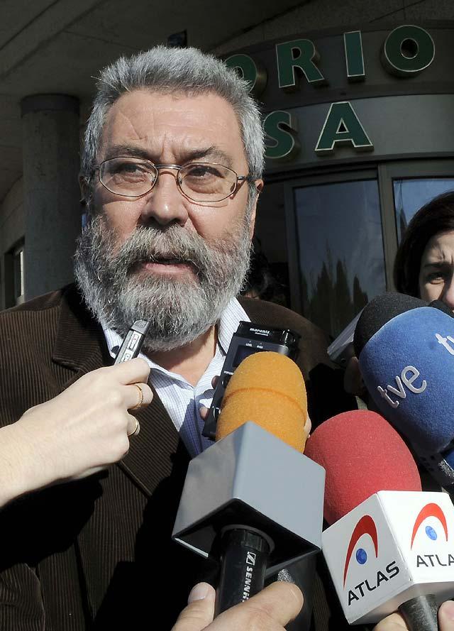 """Méndez considera que Cuevas fue """"determinante"""" para la democracia laboral en España"""
