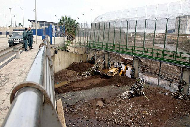 El Gobierno anuncia ayudas para Melilla por los daños de las lluvias