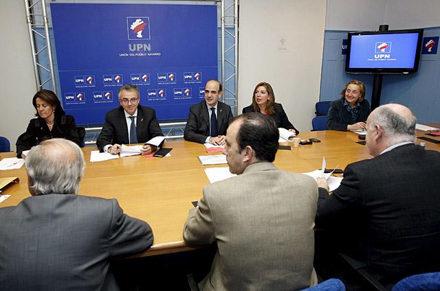 El Comité Ejecutivo de UPN suspende de militancia a Cervera y Del Burgo