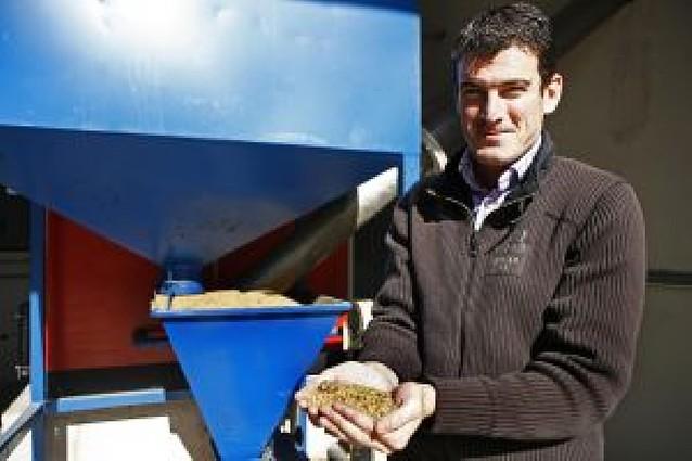 La merindad busca el ahorro en la biomasa