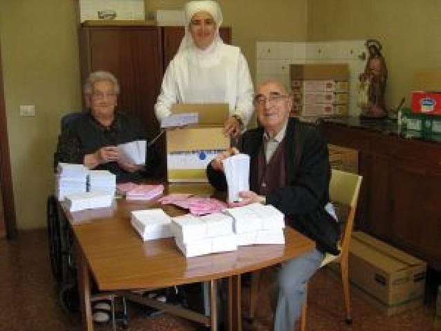 Las Hermanitas de los Pobres felicitan la Navidad y recuerdan sus necesidades