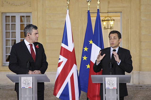 Sarkozy y Brown piden al FMI que aumente sus fondos para ayudas a los países emergentes