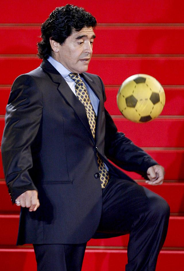 Diego Maradona dirigirá a la selección argentina