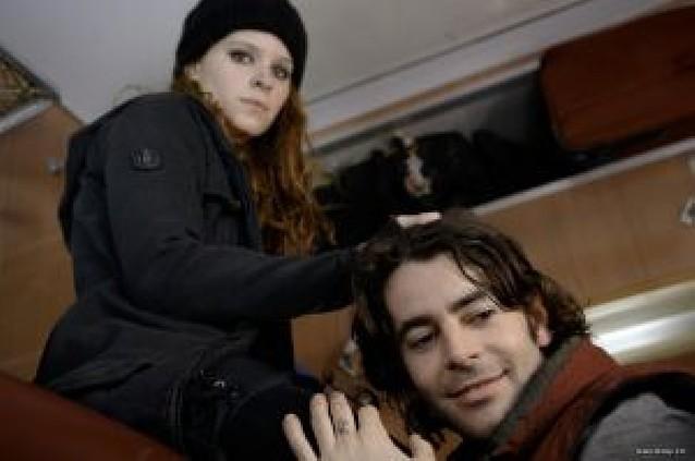 Extraños en el tren