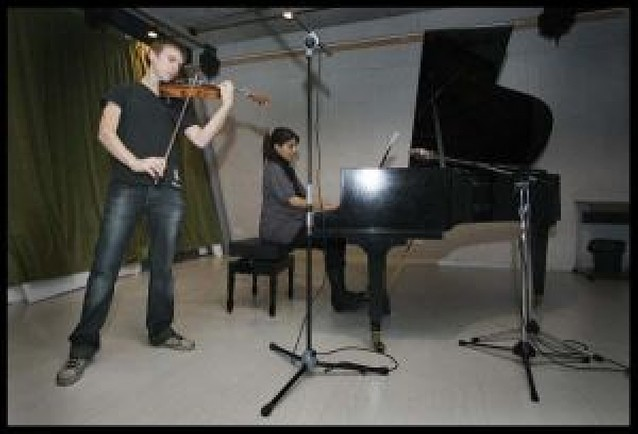 Dos músicos navarros graban un disco dedicado a Sarasate
