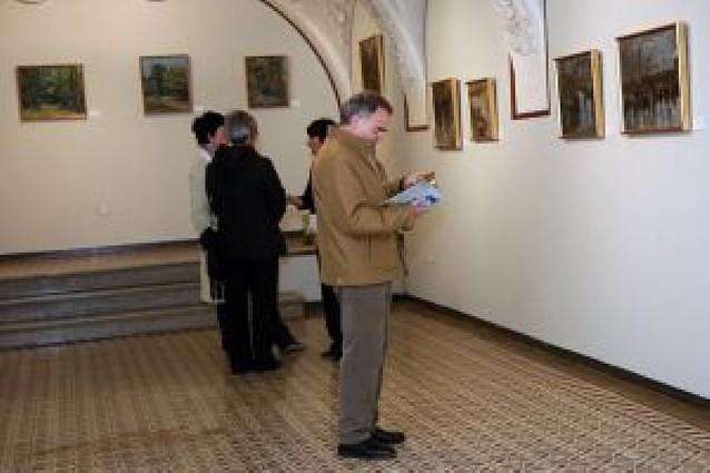La exposición de la cascantina Adela Bazo llega a Castel-Ruiz