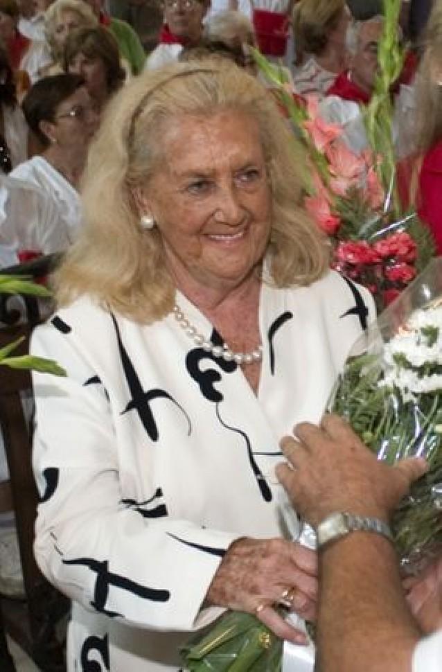 Fallece Isabel de Cubas, condesa de Morata de Jalón
