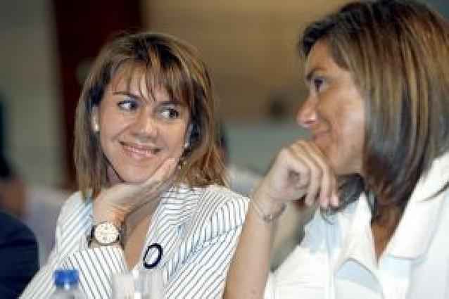 """Del Burgo: """"Ya soy militante del PP"""""""