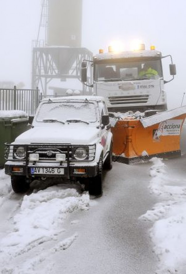 La ola de frío polar activará la alerta por lluvia y nieve en el norte hasta el viernes