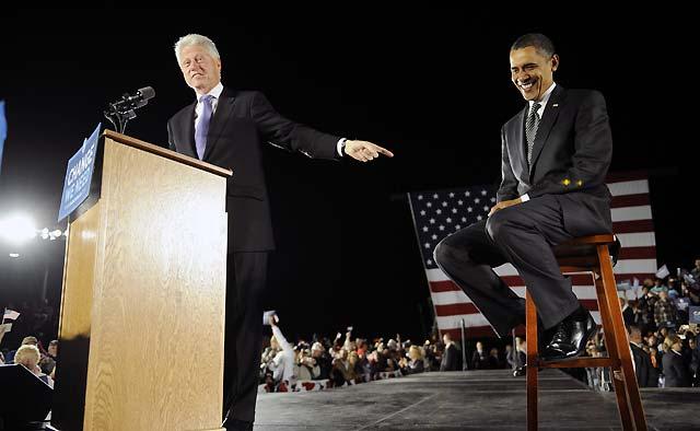 """Bill Clinton pide el voto para Obama porque EEUU necesita un presidente """"que quiera y pueda entender"""""""