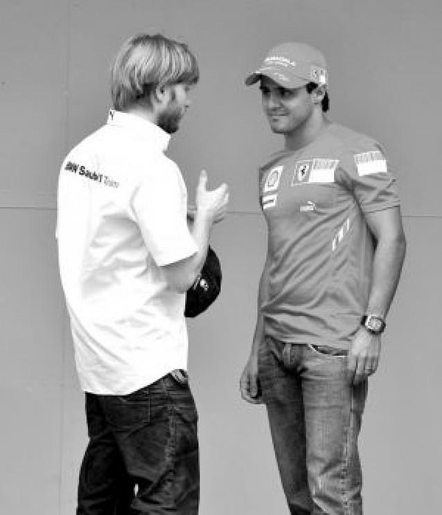 Última batalla entre Hamilton, Felipe Massa ... y Alonso