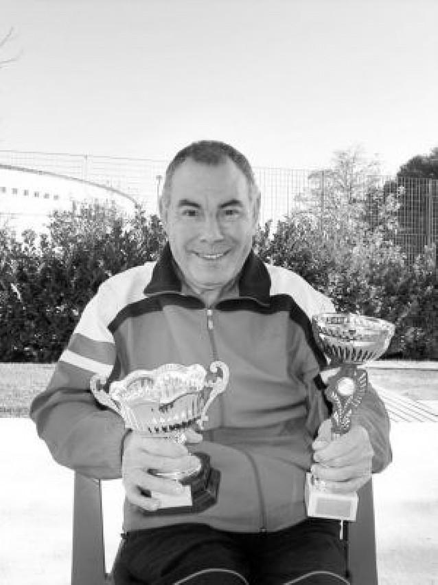 El azagrés Miguel Ángel Moreno se proclama campeón navarro de tiros libres