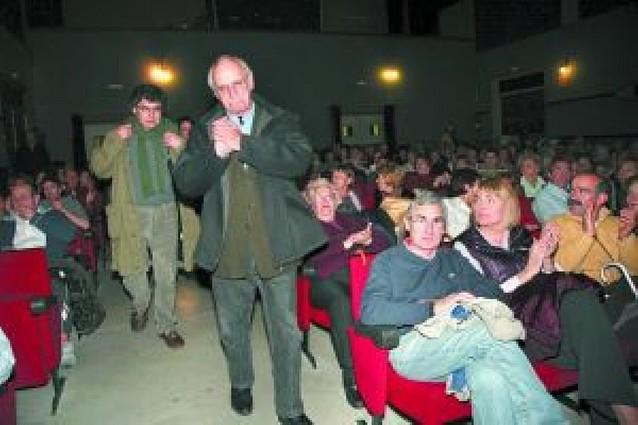 Tudela rinde homenaje a Carlos Saura