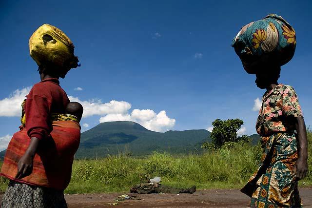 Abierto un corredor humanitario para ayuda a los desplazados por los combates en Congo
