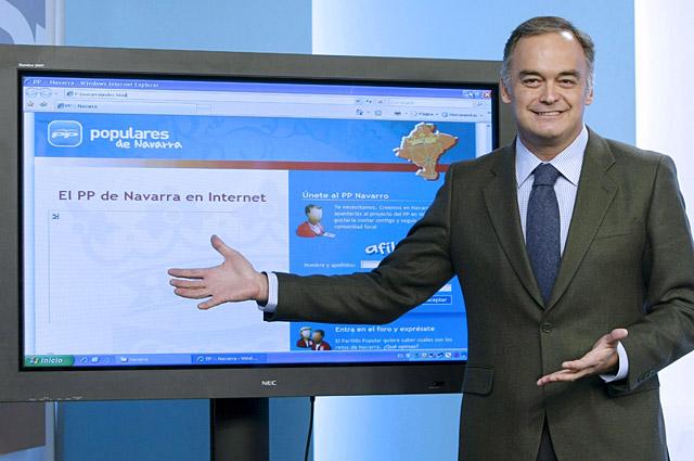 El PP lanza el partido en Navarra con una web para captar militantes