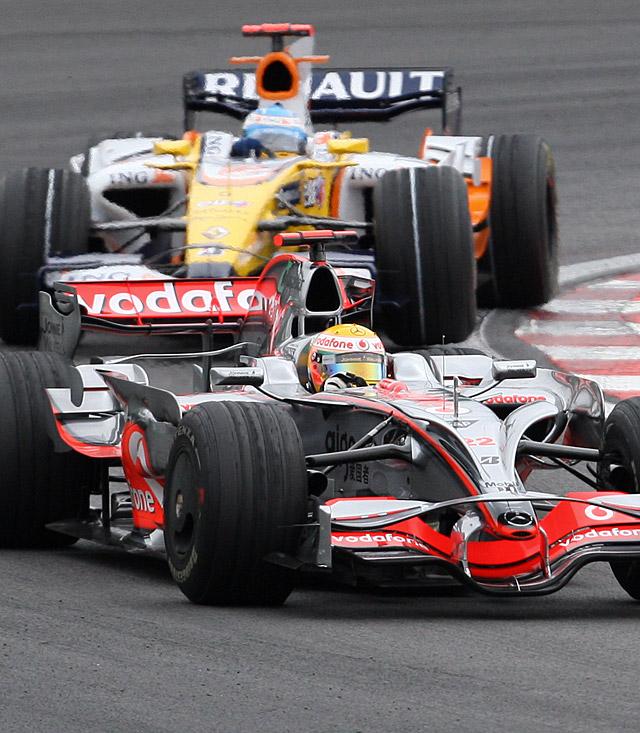Alonso, el mejor en la segunda sesión libre
